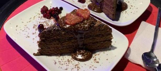 шоколадно-трюфельный десерт